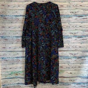 Lularoe Sarah Long Duster Cardigan Sweater Sz M